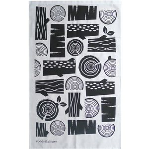 Lumberjack Tea Towel - kitchen linen