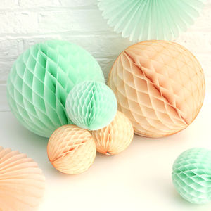 Mint And Peach Wedding Decoration Collection