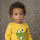 Frog Baby T Shirt And Leather Shoes Gift Set