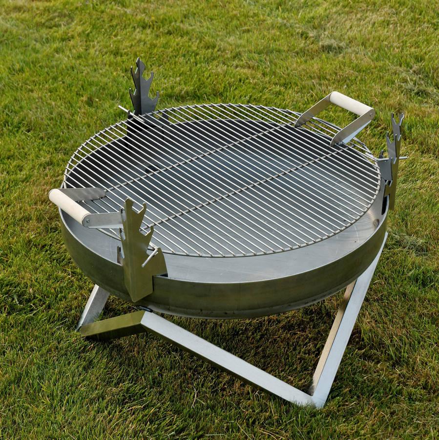 personalised yanartas steel fire pit by arpe studio uk. Black Bedroom Furniture Sets. Home Design Ideas