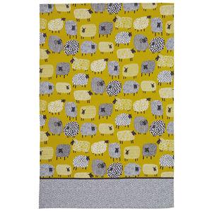 Dotty Sheep Cotton Tea Towel - whatsnew