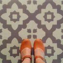 Casablanca Grey Vinyl Floor Tiles