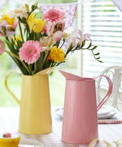 Pastel Coloured Metal Jug