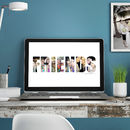 Printable Personalised Photograph 'Your Word' Image