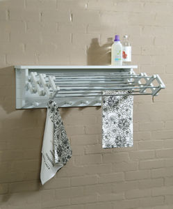 Extending Clothes Dryer In Chalk