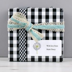 Personalised Gift Labels - finishing touches