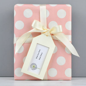 Personalised Gift Tags - wedding favours