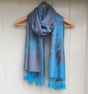 Reversible 'Butterfly' Pashmina Scarf - women's accessories