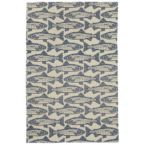 Salmon Cotton Tea Towel - kitchen accessories