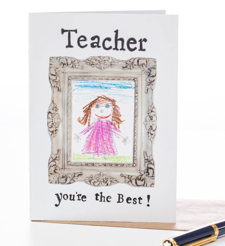 teacher you're the best' thankyou card by helena tyce designs ...