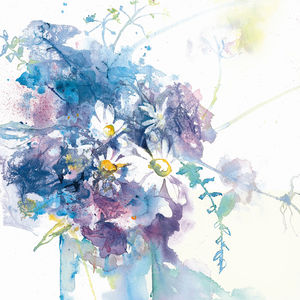 Limited Edition Daisy Floral Fine Art Canvas Print - posters & prints