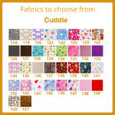 Fabrics to choose from