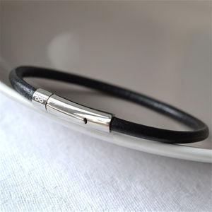 Men's Infinity Bracelet - men's jewellery & cufflinks