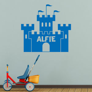 Personalised Castle Wall Decal - decorative accessories