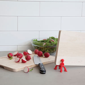Chopping Board Brothers Red