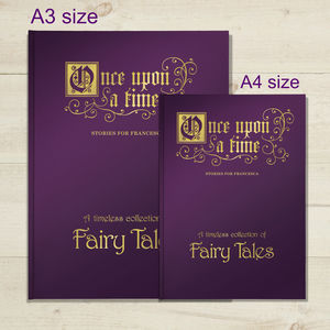 Personalised Deluxe 'Supersize' Fairytale Book - toys & games