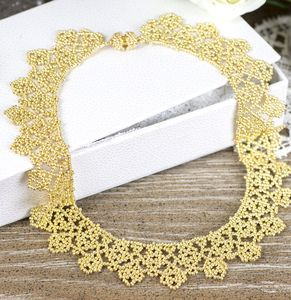 Beaded Chantilly Necklace