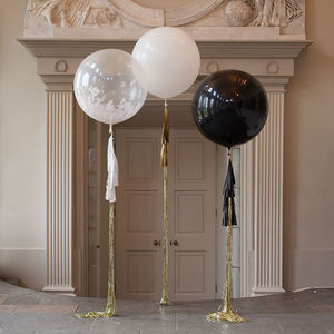 Party Tassel Tail Balloon - new years eve entertaining