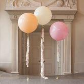 Elegance Tassel Tail Balloon Trio - weddings