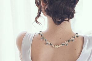 Tahiti Pearl Necklace - wedding jewellery