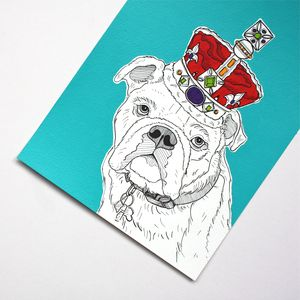 Pet Royalty Portraits On Paper