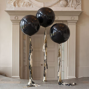 Glitz And Glam Tassel Tail Balloon - art deco wedding style