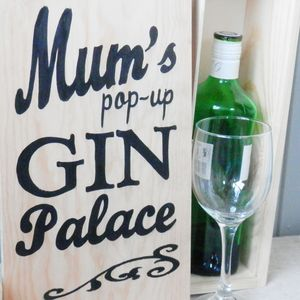 Personalised Gin Gift Or Storage Box