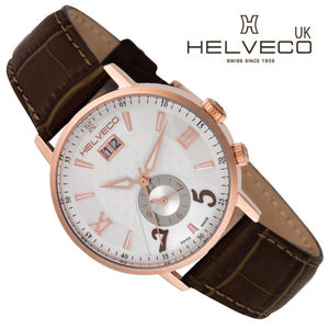 Pilatus Rose Gold Dual Time Zone Watch - watches