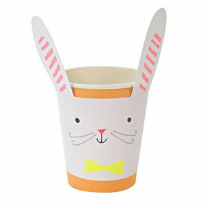 Bunny Rabbit Party Paper Cup Set Of 12