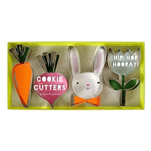 Garden Bunny Cookie Cutters Set Of Four - kitchen accessories