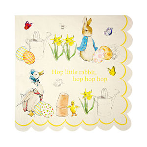Peter Rabbit Napkins Set Of 20