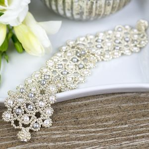 Pearl Beaded Bracelet - wedding jewellery