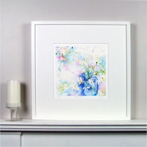 Daisy Limited Edition Floral Fine Art Watercolour Print