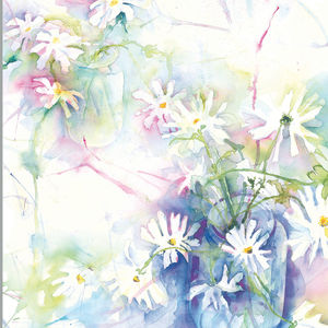 Limited Edition Floral Daisy Fine Art Canvas Print - posters & prints