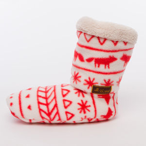 Cosy Boot Slippers - for keeping cosy