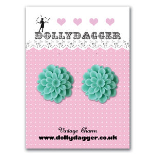 Dollydagger Chrysanthemum Earrings - earrings