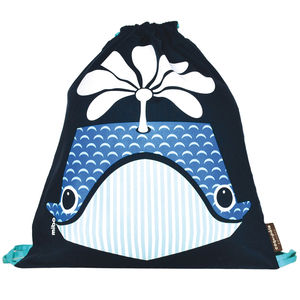 Kit Bag Whale - bags, purses & wallets