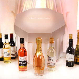 Personalised Wine Hat Box - gifts for her