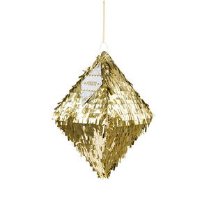 Metallic Foil Diamond Piñata