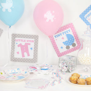 Baby Shower Party Decorations Kit