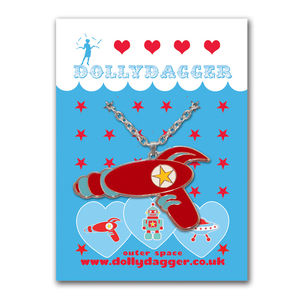 Dollydagger Retro Raygun Necklace - women's jewellery