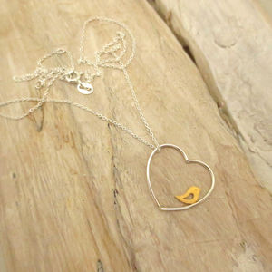 Bird In The Heart Necklace
