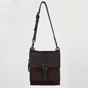 Berkeley Square Suede Handbag
