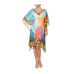 Multicolour Designer Kaftan - tops & t-shirts