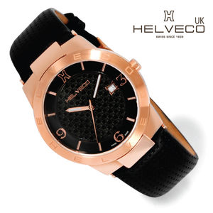 Constance Unisex Rose Gold Ip Quartz Watch - watches