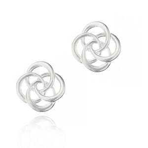 Molly B Couture Petite Love Knot Earrings - new in wedding styling