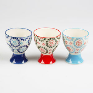 Bohemian Egg Cup