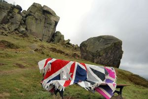 Lambswool Union Jack Throws - outdoor living
