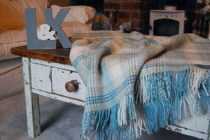 Shetland Huntingtower Throws & Cushions - throws, blankets & fabric