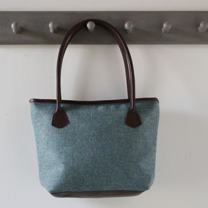 Kempton Tweed Handbag - shoulder bags